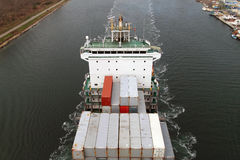 Cargo ship WARNOW VAQUITA Stock Photo