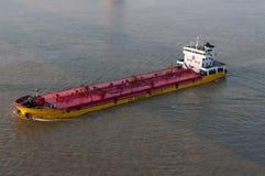 Cargo ship at yangtze river Stock Photos