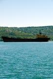 Cargo ship ZAGORE Stock Image