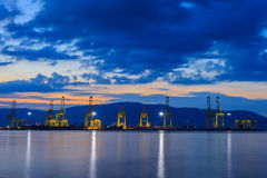 Cargo Shipping. In Penang Malaysia Royalty Free Stock Photos
