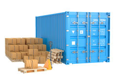 Cargo shipping concept Royalty Free Stock Photography