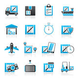 Cargo, shipping, Logistics and delivery royalty free illustration