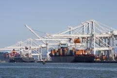 Cargo Ships 1 royalty free stock photography