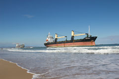Cargo Ships Royalty Free Stock Images