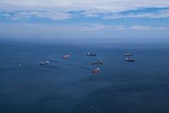 Cargo ships 3 Royalty Free Stock Photos