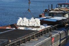 Cargo ships Stock Image