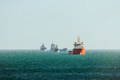 Cargo Ships Royalty Free Stock Image