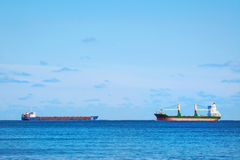 Cargo Ships Stock Photography