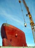 Cargo in shipyard! Royalty Free Stock Photography