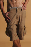 Cargo shorts Royalty Free Stock Images