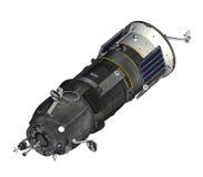 Cargo Spacecraft Closed Solar Panels Royalty Free Stock Photo