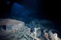 Cargo of the SS Thistlegorm. Royalty Free Stock Photos