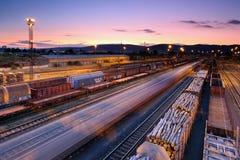 Cargo station Stock Image