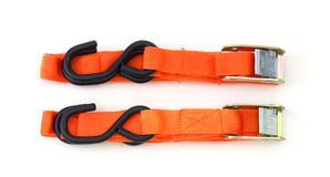 Cargo straps Royalty Free Stock Image