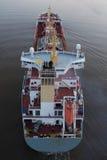 Cargo sul canale di Kiel Immagine Stock