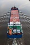 Cargo sul canale di Kiel Immagini Stock