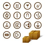 Cargo Symbol Royalty Free Stock Photos