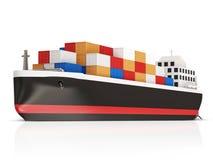 Cargo Tanker Stock Image