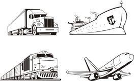 Cargo tansportation. All type of a cargo tansportation Stock Photos