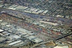 Cargo terminal Stock Photo
