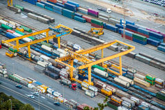 Cargo Terminal Royalty Free Stock Photo