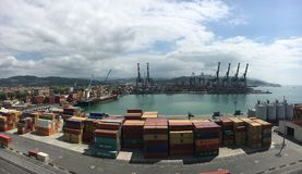 La Spezia cargo port Stock Photography