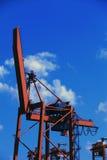 Cargo terminal, crane Royalty Free Stock Photography