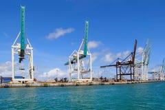 Cargo terminal Stock Photography