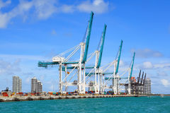 Cargo terminal Royalty Free Stock Images