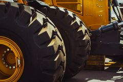 Truck tires new Stock Images