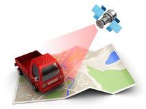 cargo tracking Stock Image