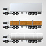 Cargo traffic Royalty Free Stock Photography