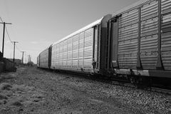Cargo train Royalty Free Stock Image