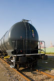 Cargo train. An industrial liquid cargo train Royalty Free Stock Photo