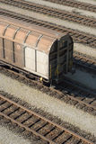 Cargo Train Car Stock Images