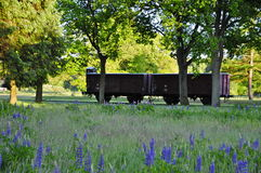 Free Cargo Train Car In Westerbork Transit Camp Stock Photos - 56911403