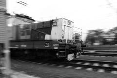 Cargo train. On railway line Stock Photography