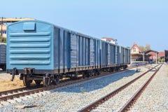 Cargo train wagon, Thailand. Stock Photography