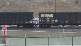 Cargo Trains, Railroads, Shipping, Transport. Stock video of cargo trains stock footage