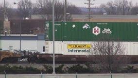 Cargo Trains, Railroads, Shipping, Transport. Stock video of cargo trains stock video footage