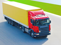 Cargo transport Royalty Free Stock Photos