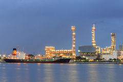 Cargo transport chemical industrial Stock Image