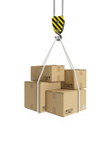 Cargo transportation Stock Images