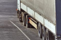 Cargo Truck Detail Royalty Free Stock Photos