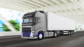 Cargo Truck Royalty Free Stock Photos