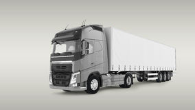Cargo Truck Stock Photo
