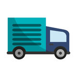 Cargo truck icon Royalty Free Stock Image