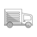 Cargo truck icon Royalty Free Stock Photo