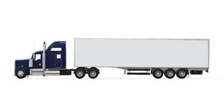 Cargo Truck Isolated Royalty Free Stock Photo