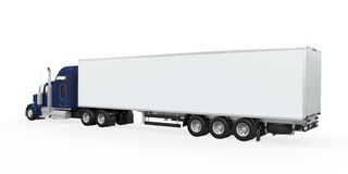 Cargo Truck Isolated Stock Photography